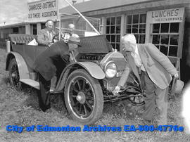 The Camrose Oldtimers' Association 1913 Cadillac proved the hit of opening day parade. At the cra...