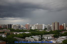 Storm Clouds Over Downtown - Image 2 of 2