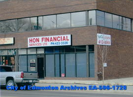 office building;  Hon Financial Services