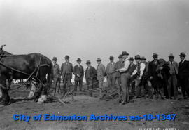 University of Alberta Sod Turning