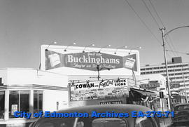 Sign - Buckingham Cigarettes
