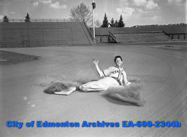 Edmonton Eskimos baseball player.