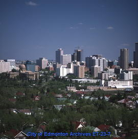 Edmonton Downtown - East from Legislature Building