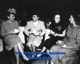 Tea held by the Local Council of Women to aid the Canadian Appeal for Children.
