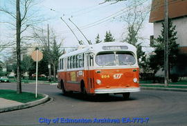E.T.S. Trolley Bus #204