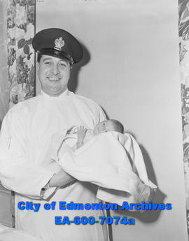 Edmonton's New Year's baby, Miss Katherine Alice Maloney, daughter of Constable and Mrs. William ...