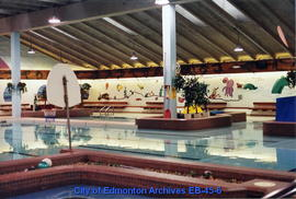 A.C.T. Recreation Centre pool interior facing northeast prior to renovation