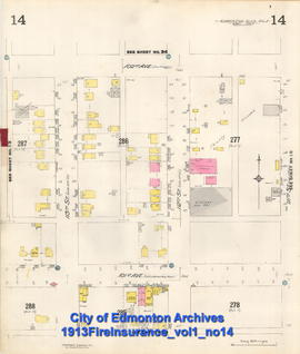 1913 Fire Insurance Plan Volume 1, Sheet 14