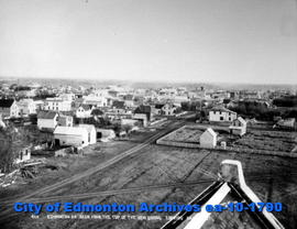 Edmonton From Top of McKay Ave. School