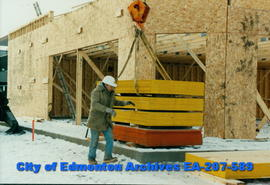 Construction of 104th Avenue shopping centre