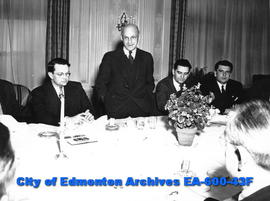 Reader's Digest Award Banquet: Presentation for Provincial News Co., Edmonton.