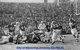 1956 Grey Cup Game