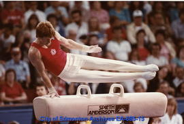 Universiade '83 - Canada's Brad Peters