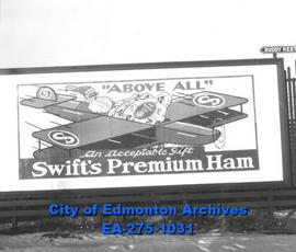 Sign - Swift's Premium Ham
