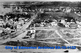 Edmonton from 107 Street & 97 Avenue