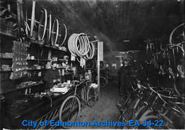 A. Buckham Bicyle Shop - Interior