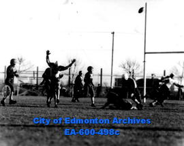 Alberta junior football final at Clarke Stadium between the Calgary Tornadoes and the Edmonton Ma...