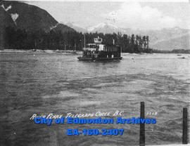 River Ferry, Telegraph Creek, British Columbia