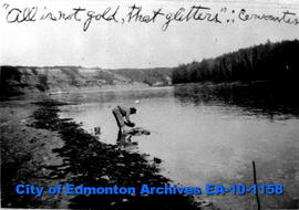 Gold Panning on North Saskatchewan River