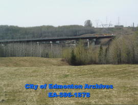 Anthony Henday Bridge; under construction