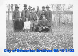 Architect's Department Staff at South Edmonton Beach