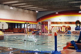A.C.T. Recreation Centre pool interior facing northwest prior to renovation
