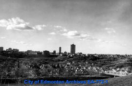 Edmonton Skyline over Riverdale