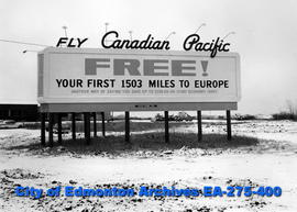 Sign - Canadian Pacific Air Lines