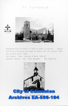 St. Alphonsus Catholic Church Poster