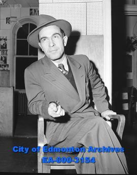 Wetaskiwin Hockey representative Bill Draayer. - City of Edmonton Archives 7e1efd03d019