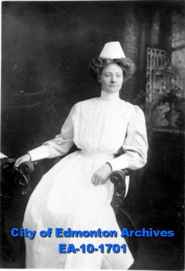 Nurse in Uniform  Burgess, Strathcona