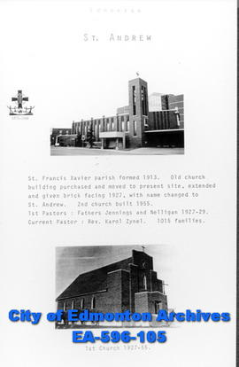 St. Andrew Catholic Church Poster
