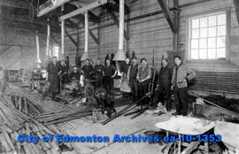 Blacksmith Shop-City of Edmonton