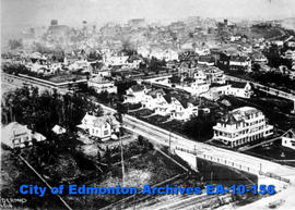 Edmonton-Looking Northeast