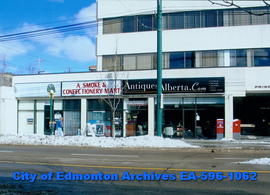 Antiques Alberta;  A Smoke & Confectionery Mart