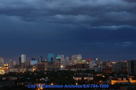 Storm Clouds At Night - Image 2 of 3