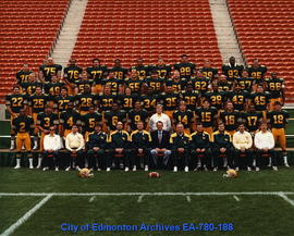 Edmonton Eskimos team photo