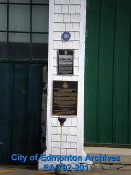 EHB Plaque for Hangar 14 on Stand