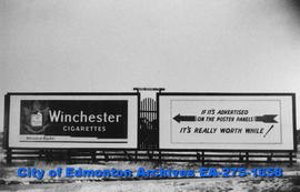 Sign - Winchester Cigarettes