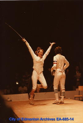 Universiade '83 - Canada's Madeline Philion