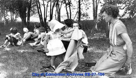 1950 Reunion - Picnic At Oliver