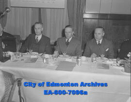 Edmonton Chamber of Commerce and Canadian Club members met with government and civil defence auth...