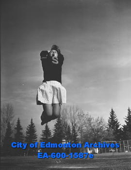 Strathcona High School cheerleader Loreen Stewart.