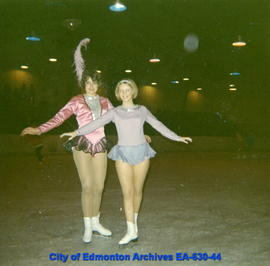 Leigh Mildrum and Sandra St. Lawrence
