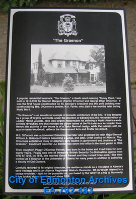 EHB Plaque for The Graenon