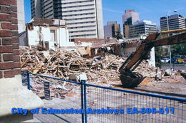 Demolition of Foster & McGarvey Ltd. Funeral Chapel