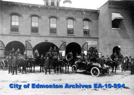Edmonton Fire Dept.-Inspection #1 Firehall