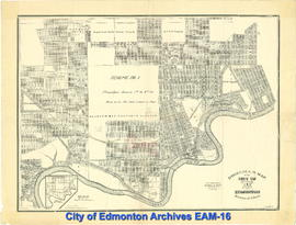 Driscoll's Map of the City of Edmonton, Province of Alberta