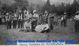 Stoney Indians at Golden, B.C.