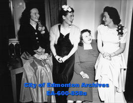 Annual banquet and dance of Local 448, Brotherhood of Railway Carmen of America at the Macdonald ...